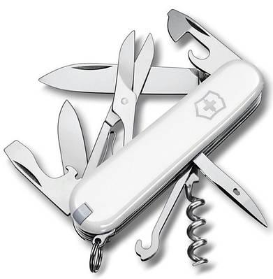 Армейский превосходный складной нож Victorinox Climber 13703.7 белый