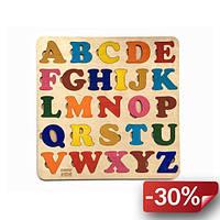 Пазл Racor Английская азбука Цветной 360х360х80 (R10018)