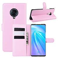 Чехол-книжка Litchie Wallet для Vivo Nex 3 Pink