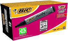 Маркер BIC перманентный черный 2000 (1 шт)