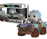 Фигурка Funko Pop Фанко Поп Rick and Morty Mad Max Rick Рик и Морти Рик сумасшедший Макс 24 смRM R 37