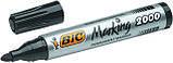 Маркер BIC перманентний чорний 2000 (1 шт), фото 3
