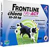 Frontline Tri-Act M для собак весом 10-20 кг, 1 пипетка