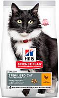 Hill's SP Feline Mature Adult 7+ Sterilised Cat с курицей, 1,50 кг