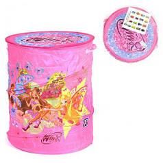 Корзина для игрушек А 01067 (60) в кульке [Пакет] - 6900065010676 A01067