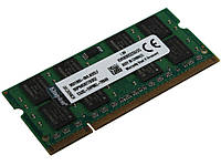 2GB PC2-6400 DDR2-800MHz 200pin Sodimm для ноутбука С чипом Kingston Для ноутбуков