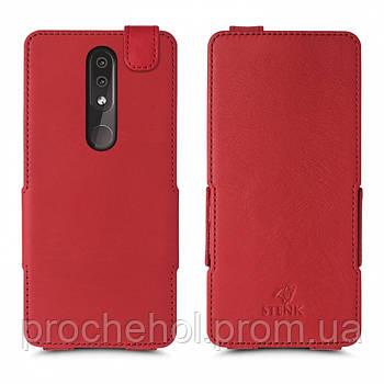 Чехол флип Stenk Prime для Nokia 4.2 Красный