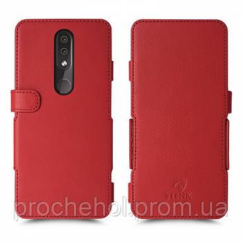 Чехол книжка Stenk Prime для Nokia 4.2 Красный