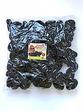 Резинки махра чёрные 80 штук