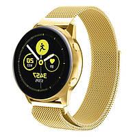 Ремешок BeWatch для смарт-часов Samsung Galaxy Watch Active Золотистый (1010228), фото 1