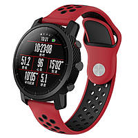 Ремешок BeWatch sport-style для Xiaomi Amazfit Stratos / Pace Red-Black (1020131.2), фото 1