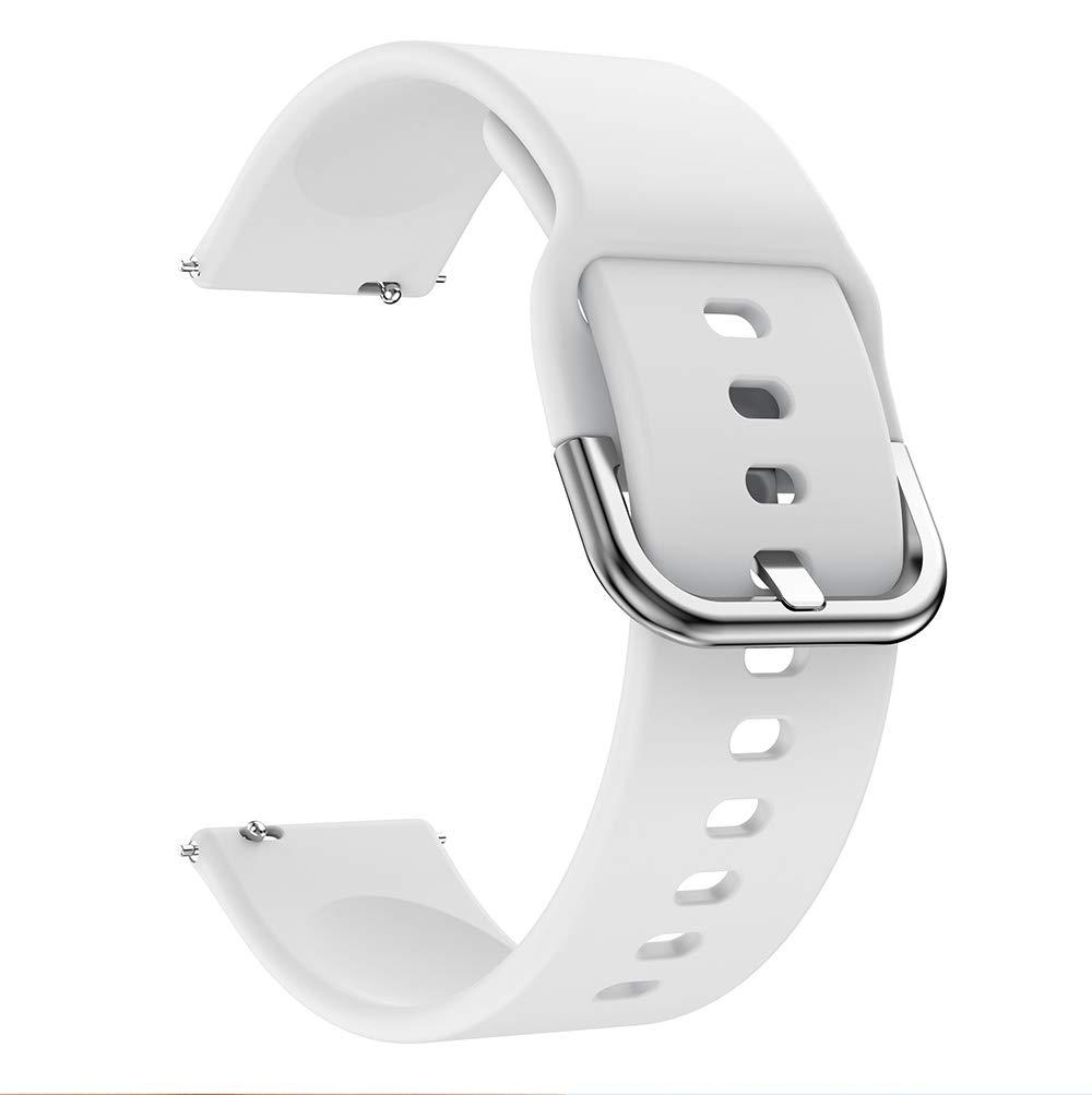 Ремешок BeWatch New 20мм для Samsung Galaxy Watch 42мм \ Galaxy watch Active Белый (1012302)