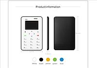 Aiek X6 - ультратонкий мобильный телефон кредитная карточка