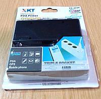 Автомобільний трійник (розгалужувач) WF - 0096 + USB 5V/500мА