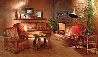 """PYKA Кожанные раскладные уголки и диваны с креслами """"ALICJA II"""""""