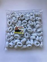 Резинки  белые  80 штук