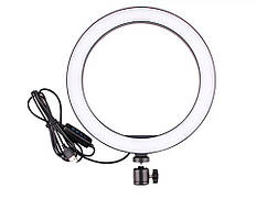 Кольцевая LED лампа USB для фотосъемки 5600 К