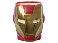 Чашка Залізна людина керамічна 3D Железный человек