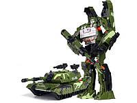 Большой робот-трансформер Танк