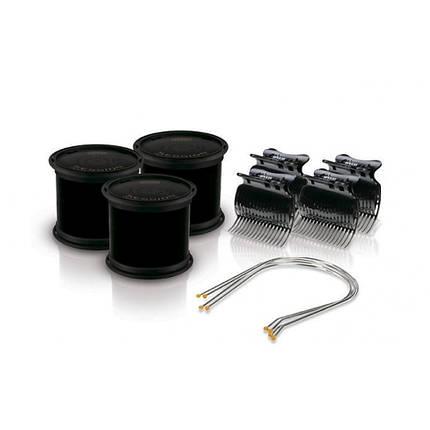 Электробигуди Diva, черные, бигуди+шпильки+зажимы, 64мм (D426), фото 2