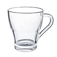 Чашка стеклянная глянцевая, 250мл, цвет Бесцветный