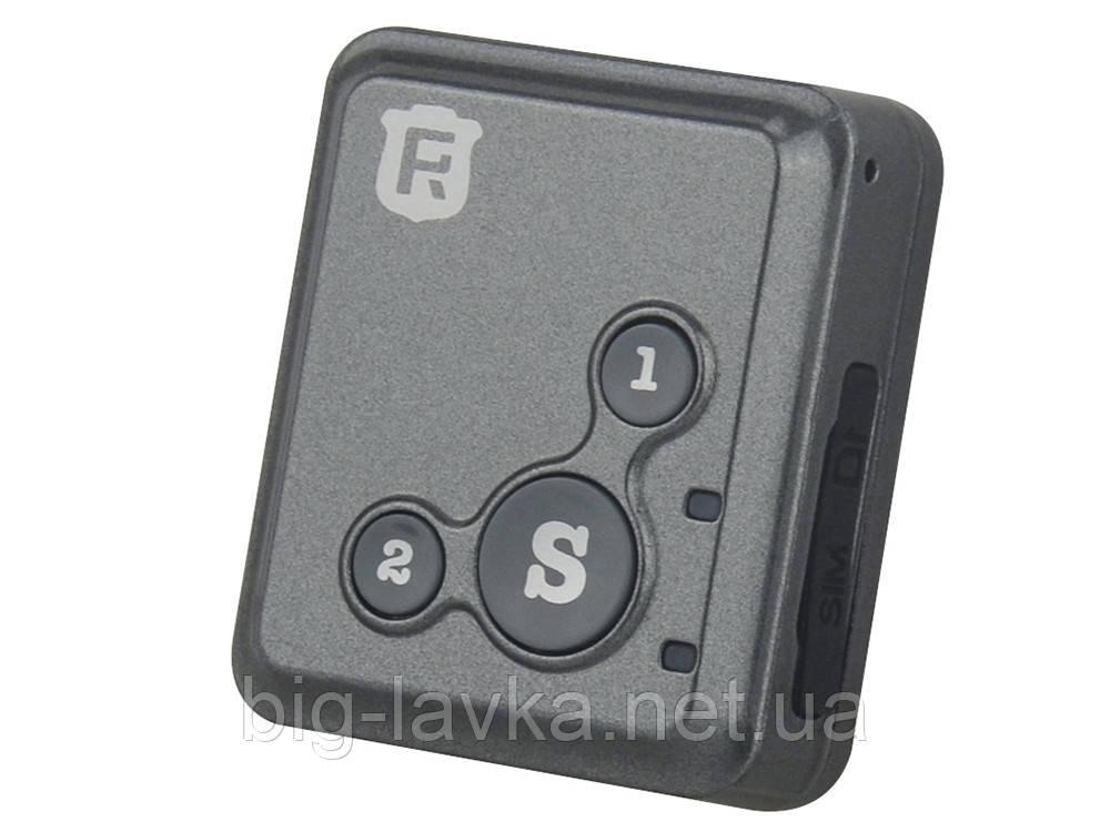GPS трекер GT02A автомобильный  Черный