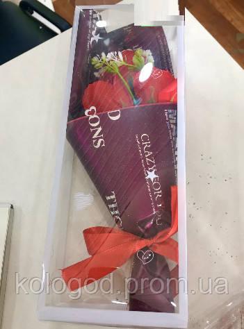 Подарочное Мыло Роза Для Ванной Подарок День Святого Валентина 8 Марта