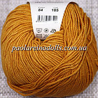 Пряжа ЯрнАрт Джинс YarnArt Jeans, цвет №84 горчица