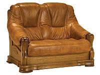 PYKA Двухместный кожаный диван SONIA