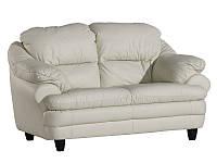 PYKA Двухместный кожаный диван SARA