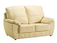 PYKA Кожаный двухместный диван DALLAS