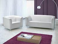 AEK Design Диван кожаный раскладной с креслами London