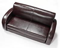 AEK Design Двухместный кожаный диван Larry