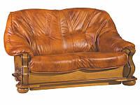 PYKA Двухместный кожаный диван Parys