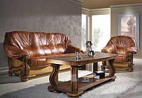 PYKA Комплект кожаной мягкой мебели Parys 3р+1+1