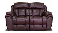 BostonSofa Двухместный кожаный диван с функцией релаксации Boston