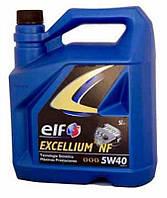 Масло моторное 5W40 A3/B4 SL/CF ELF Excellium NF SL/CF 5л