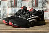Кроссовки мужские 16461, Yike Running, черные [ 42 43 ] р.(42-27,5см), фото 2