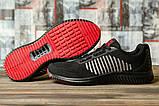 Кроссовки мужские 16461, Yike Running, черные [ 42 43 ] р.(42-27,5см), фото 3