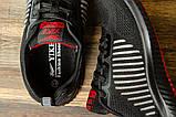 Кроссовки мужские 16461, Yike Running, черные [ 42 43 ] р.(42-27,5см), фото 5