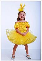 Карнавальный костюм Колосок, Пшеничка для девочек