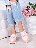 Туфлі лофери шкіра Maxi пудра 7006-28, фото 2
