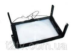 Увеличительное стекло A4, 3x лупа, подсветка