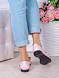 Туфлі пудра шкіряні Bant (літо) 7037-28, фото 4