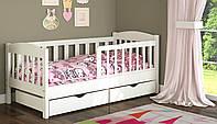Кровать для ребенка от 3 лет с бортиками Ассоль