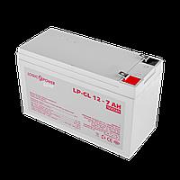 Аккумулятор гелевый LogicPower LP-GL 12 - 7 AH SILVER