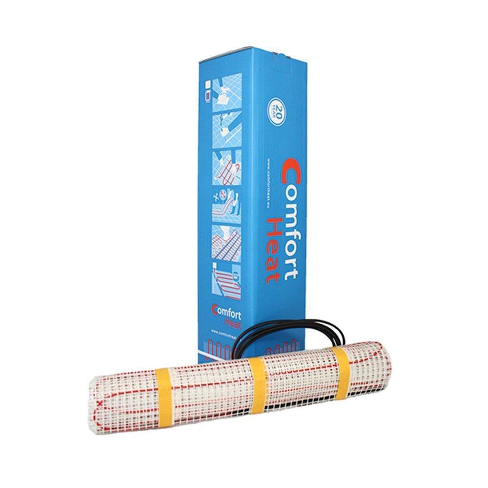 Теплый пол электрический Комфорт Хит / 3.5  м² / 560 Вт / тонкий мат для укладки под плитку в клей