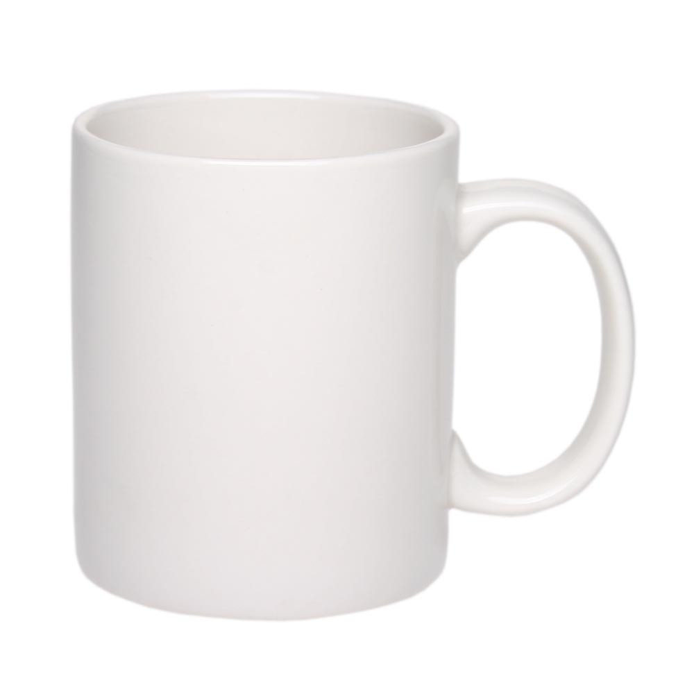 Чашка керамическая 'Том', 310мл, цвет Белый