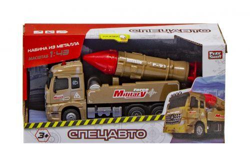 """Военный грузовик """"Ракетный комплекс"""" инерционный 6691"""