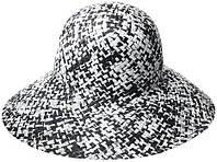 Черно-белая шляпа BCBG Max Azria